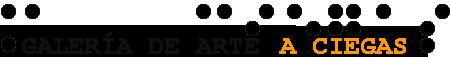 Galería de Arte A Ciegas Logo